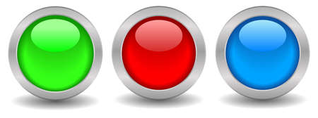 shiny button: Shiny web buttons