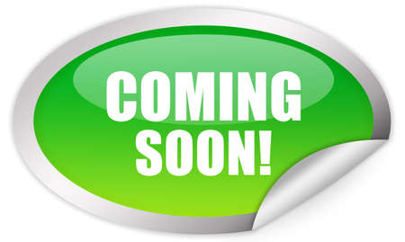 Coming soon sticker Stock Photo - 9156426