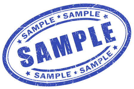Sample stamp Stock Photo - 9156460