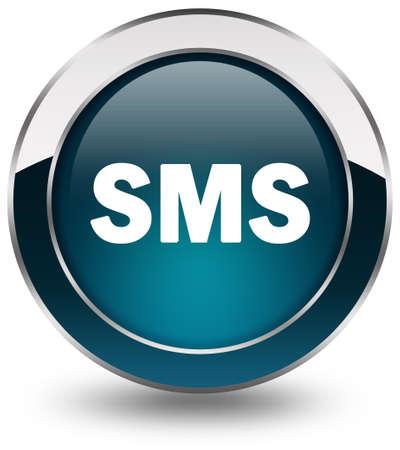information technology logo: Sms button