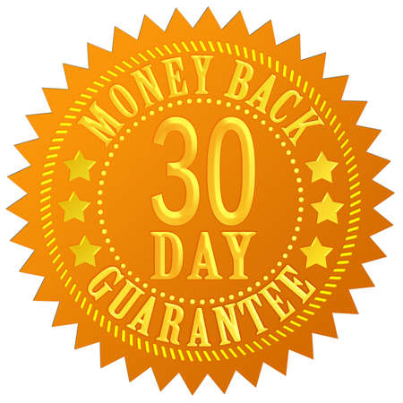 back icon: 30 day money back guarantee