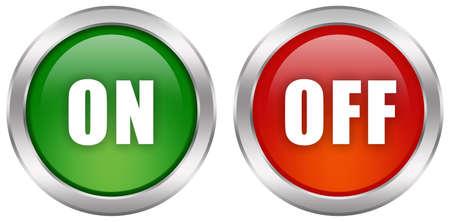 boton on off: Desactivar conjunto de botones