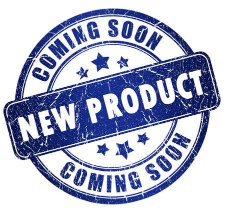 proximamente: Nuevo sello de producto Foto de archivo