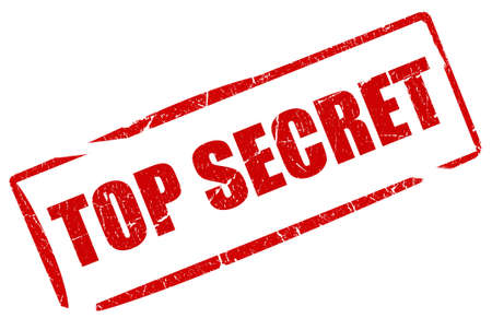 Top secret stamp Stock Photo - 9156413