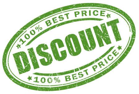 Discount stamp Stock Photo - 9396127