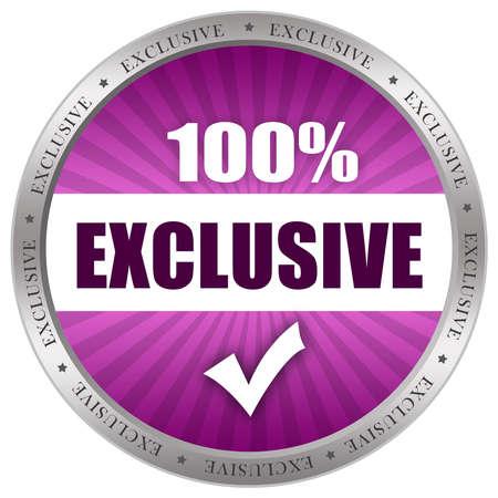 exclusivity: Exclusive icon