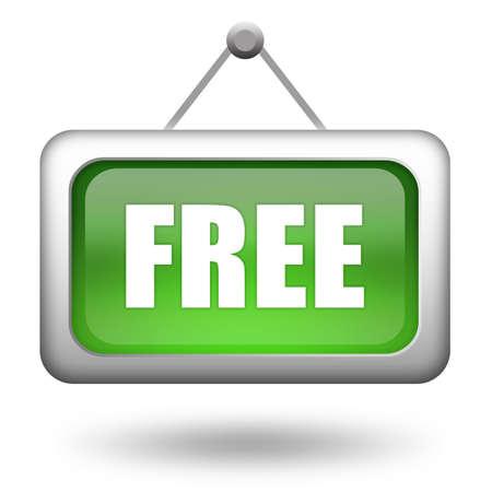 Free sign Stock Photo - 9396082