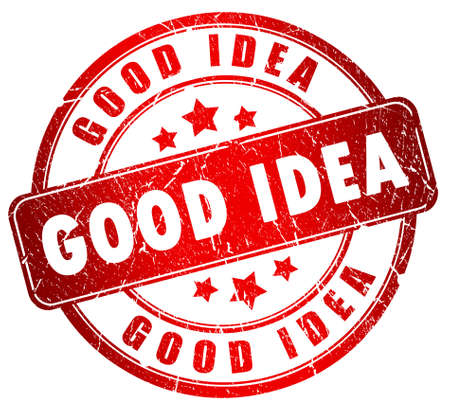 Good idea stamp Stock Photo - 9396130