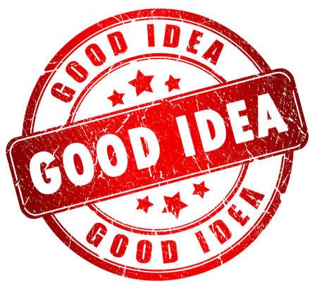 Good idea stamp Stock Photo - 9396130