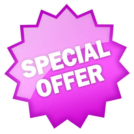 Special offer icon Stock Photo - 9396076