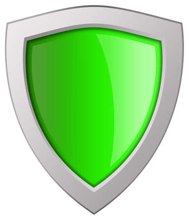 Shield icon Stock Photo - 9396079