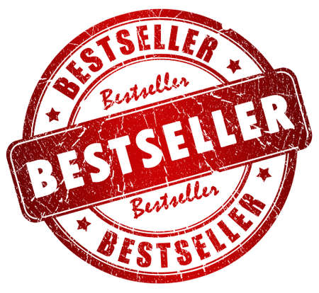 best: Bestseller stamp Stock Photo