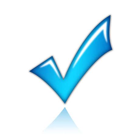 h�kchen: Checkmark-Symbol
