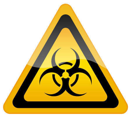 Biohazard sign photo