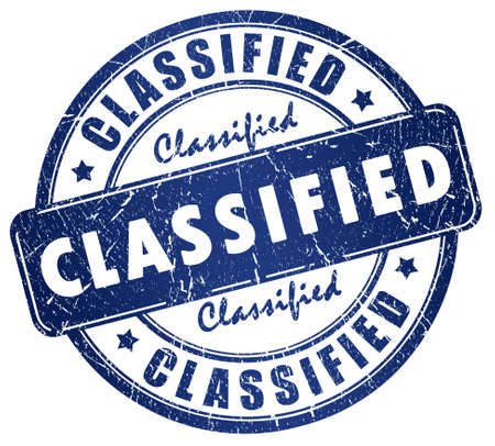 Classified stamp Stock Photo - 9718748