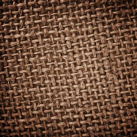Burlap rough texture photo