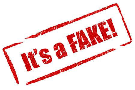 tamper: Fake stamp