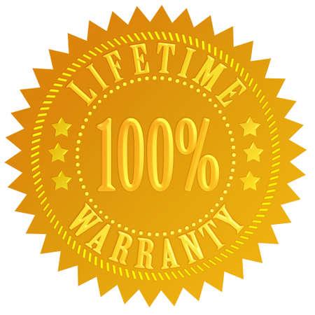 Lifetime warranty photo
