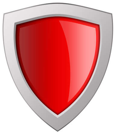 Blank shield icon photo