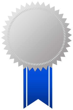 Award medal with ribbon Stock Photo - 9718757