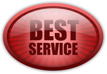 Best service icon Stock Photo - 9849794