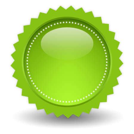 Blank shiny icon Stock Photo - 9849789