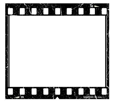 movie film: Film strip Stock Photo