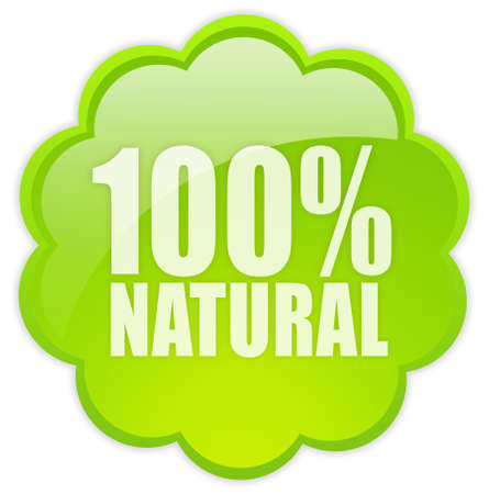 biologic: 100 natural icon