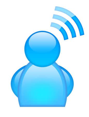 membres: Ic�ne brillant utilisateur