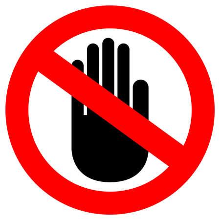 divieto: nessun segno di entrata