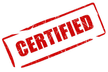 proved: Certificato timbro