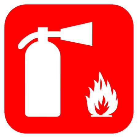 foam safe: Fire extinguisher sign