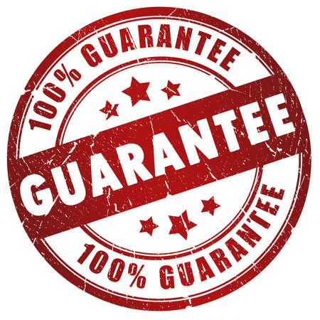 Guarantee grunge stamp 免版税图像