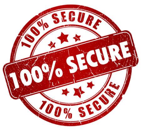 Timbre sécurisé Banque d'images