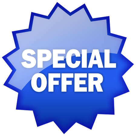 Special offer star Stock Photo - 9986655