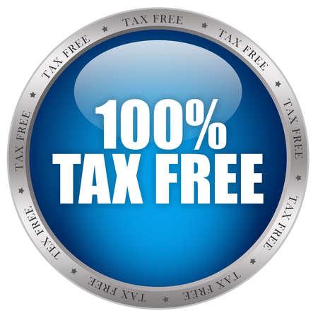 Tax free icon Stock Photo - 9986713