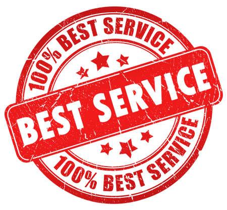 satisfaction client: Timbre de service meilleur