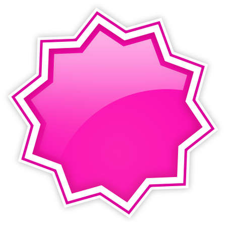 offer icon: Glossy star icon