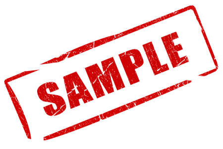 Sample stamp Stock Photo - 10101139