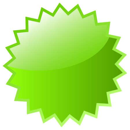 flashy: Green star icon