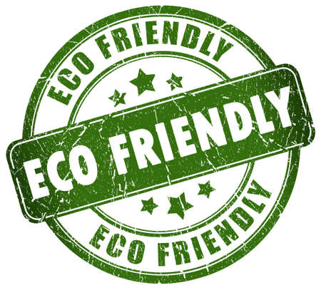 environmentally friendly: Eco friendly stamp