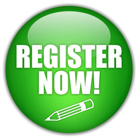 today: Register now button Stock Photo