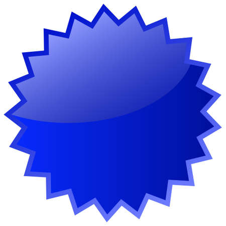 bursting: Star blue icon