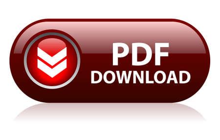 PDF downloadknop Vector Illustratie