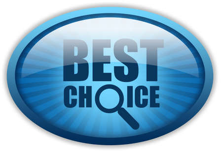 Best choice logo Stock Photo - 10428469