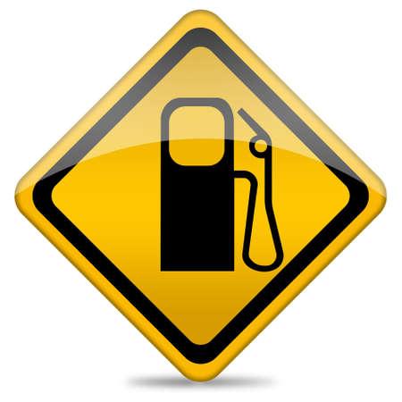 Gas station icon photo