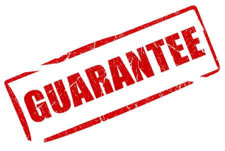 satisfaction guaranteed: Guarantee stamp