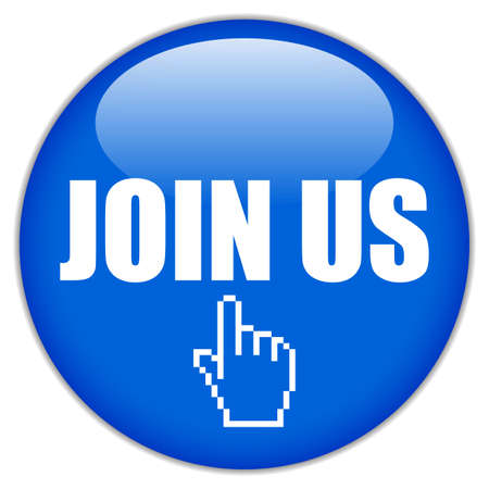Join us vector-knop