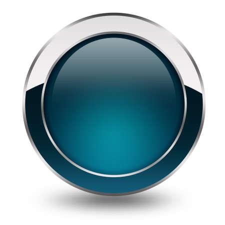 knop: Blank web knop Stockfoto