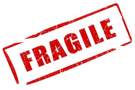 Fragile stempel